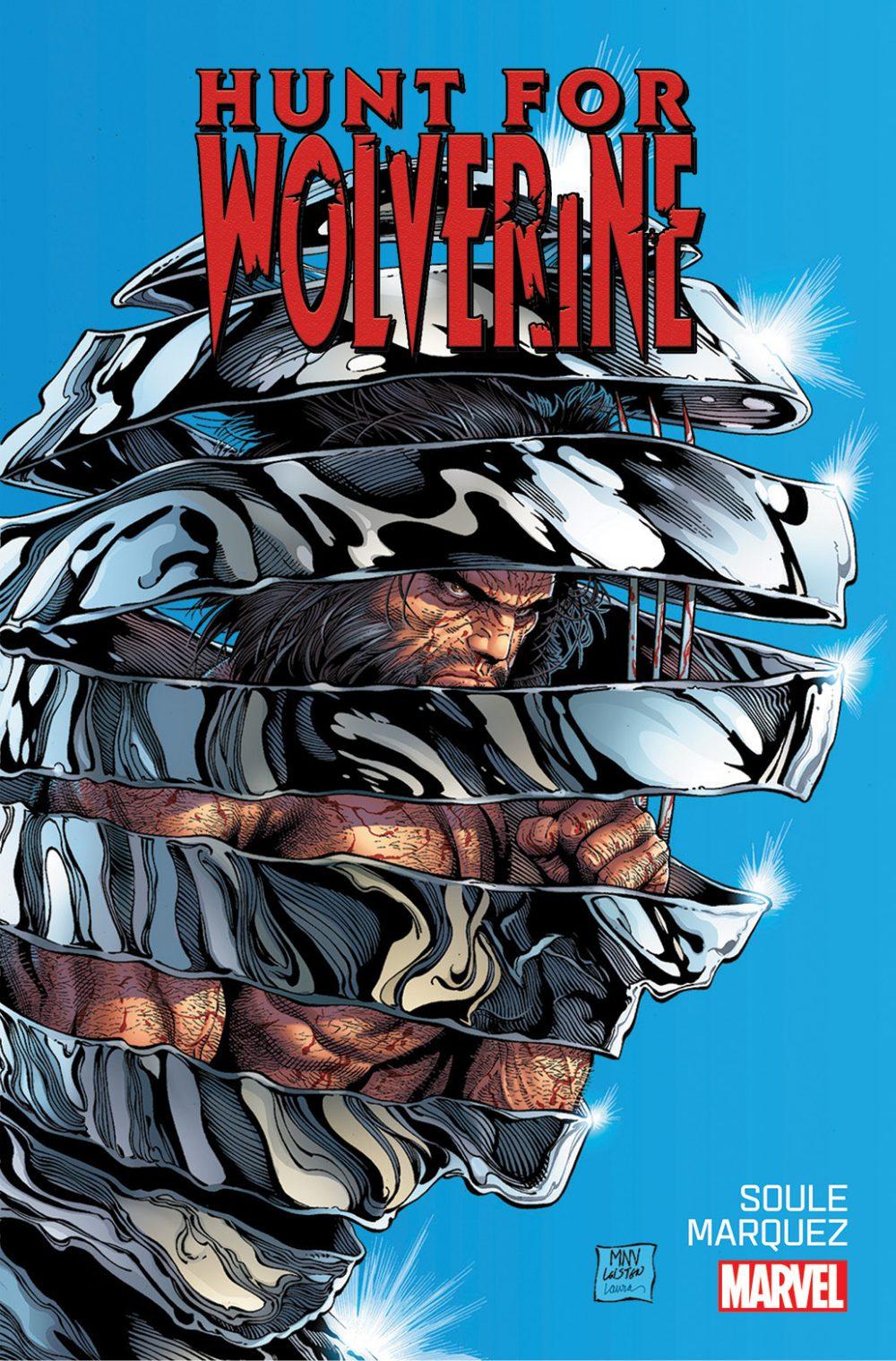 The Hunt for Wolverine #1, copertina di Steve McNiven