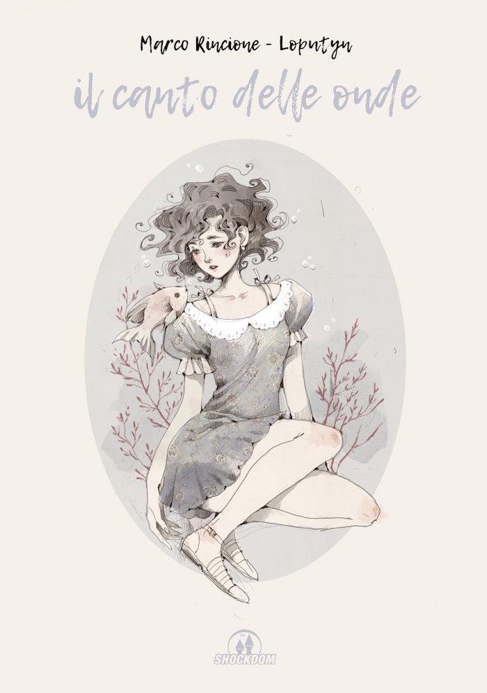 Il canto delle onde, copertina di Jessica Cioffi