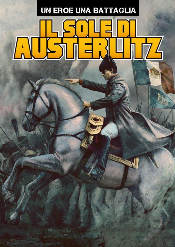 Il sole di Austerlitz, copertina di Elia Bonetti