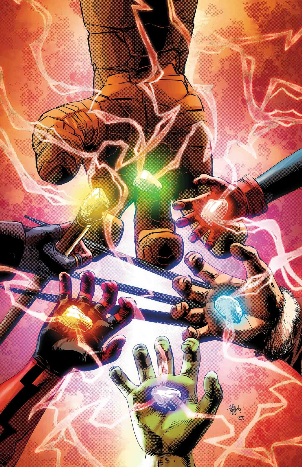 Infinity Countdown: Prime #1, copertina di Mike Deodato Jr