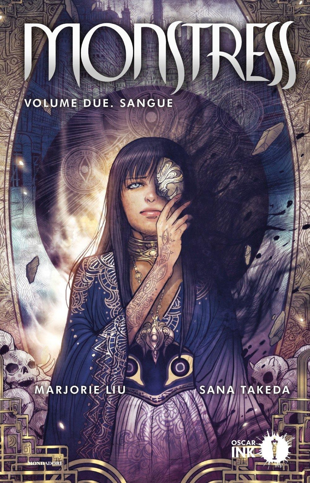 Monstress vol. 2: Sangue, copertina di Sana Takeda