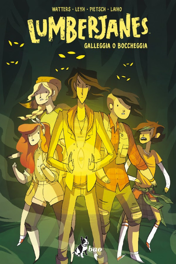 Lumberjanes vol. 6: Galleggiare e boccheggiare, copertina di Noelle Stevenson