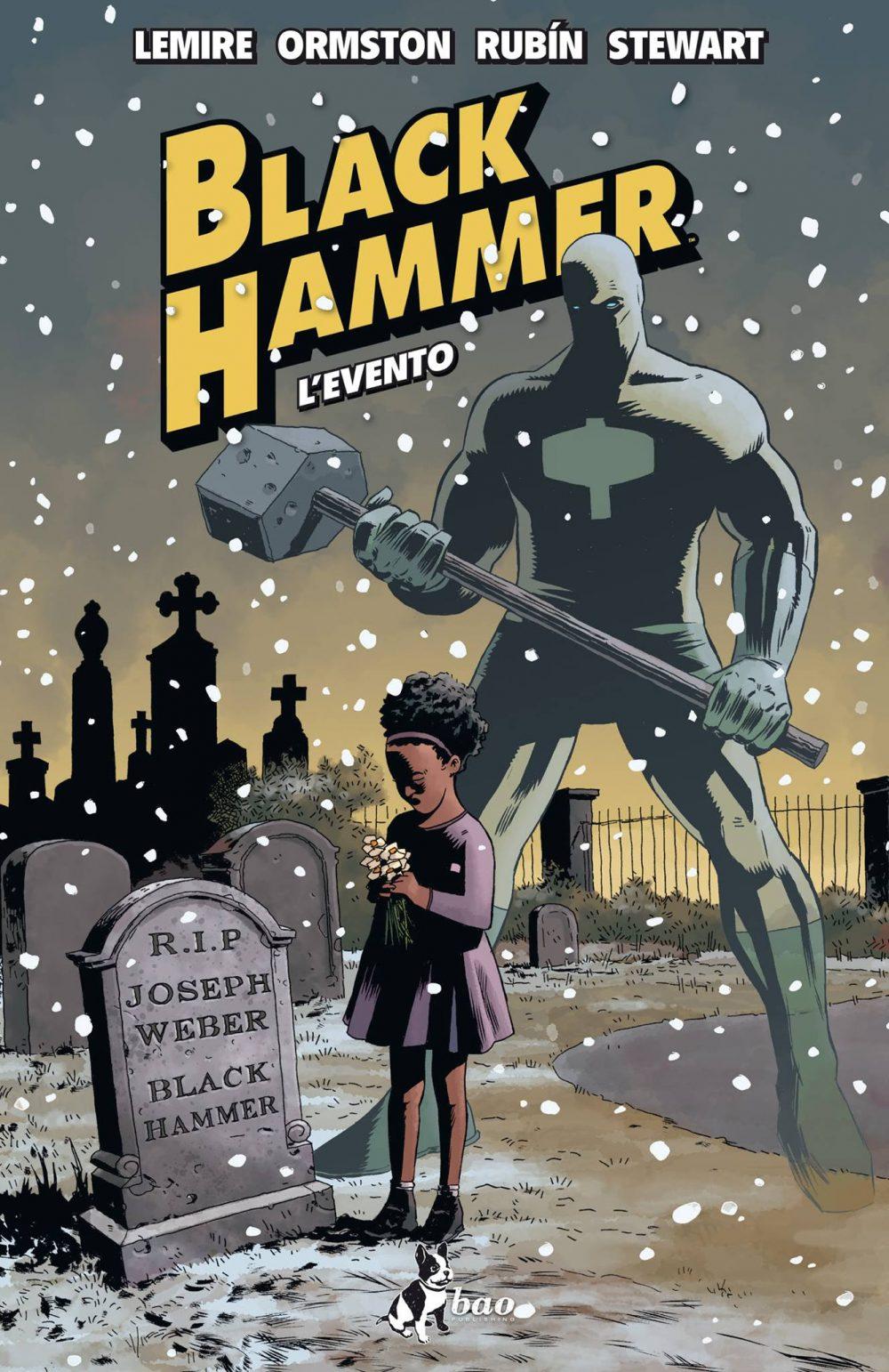 Black Hammer vol. 2: L'evento, copertina di Dean Ormston