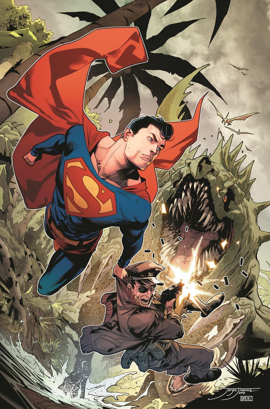 Superman Special #1, copertina di Jorge Jimenez