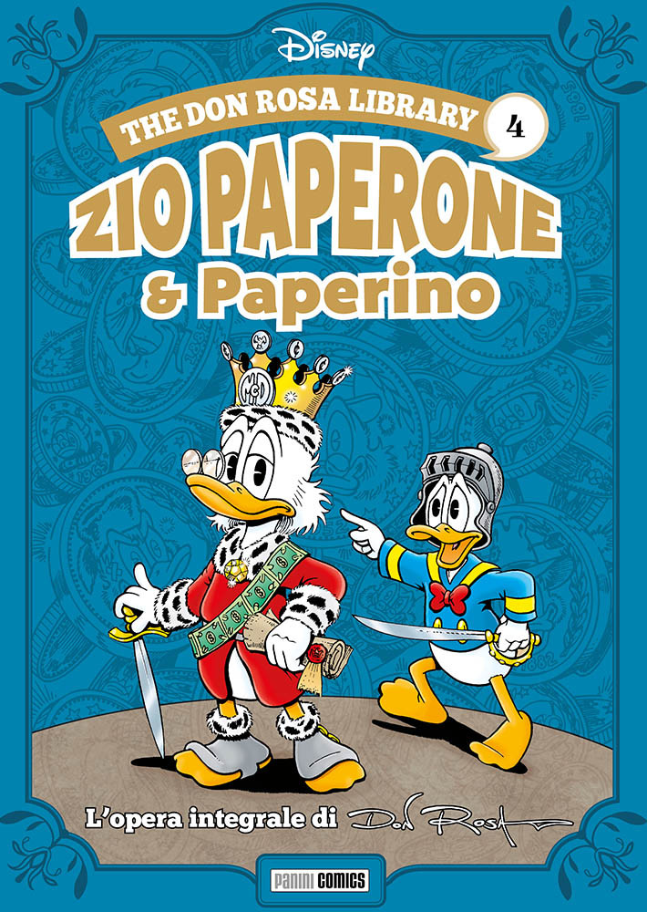 The Don Rosa Library: Zio Paperone & Paperino vol. 4, copertina di Don Rosa