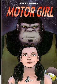 Motorgirl, copertina di Terry Moore
