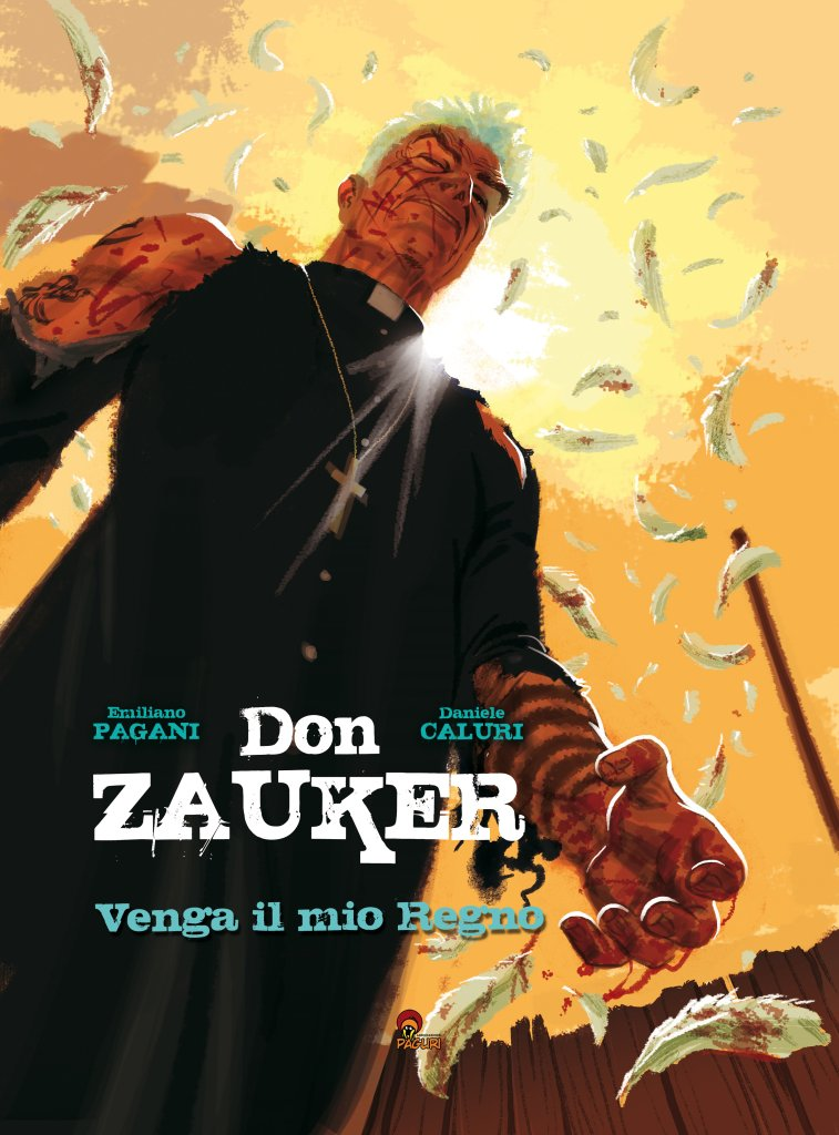 Don Zauker: Venga il mio regno, copertina di Daniele Caluri