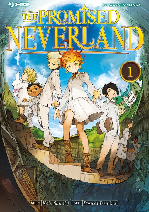 The Promised Neverland 1, copertina di Posuka Demizu