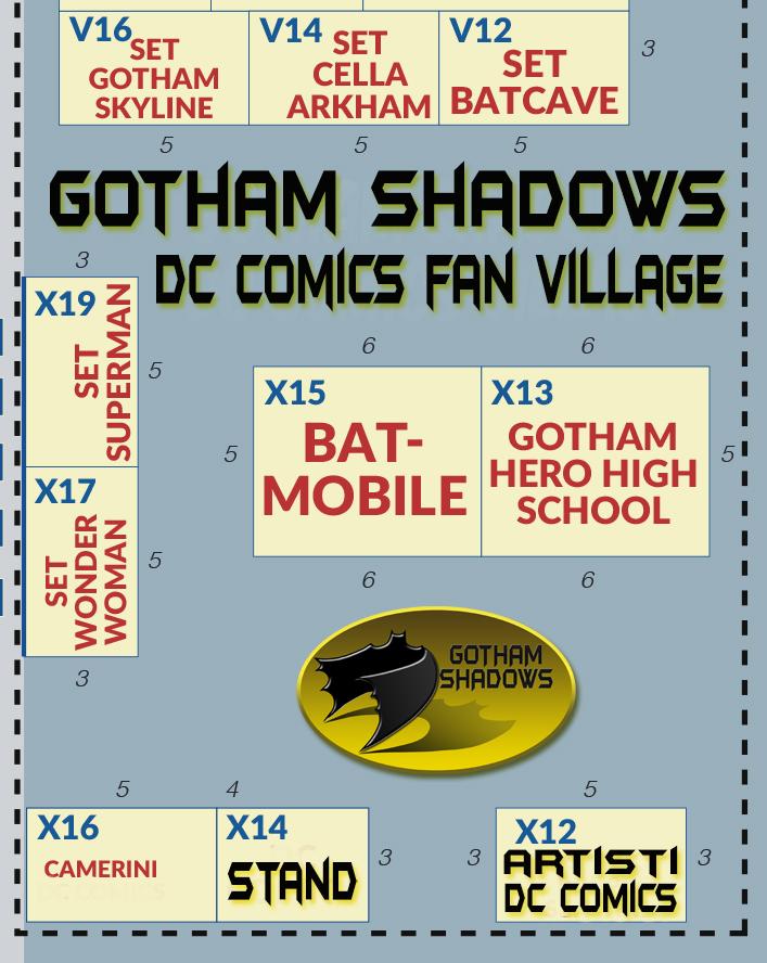 Gotham Shadows a Cartoomics 2018