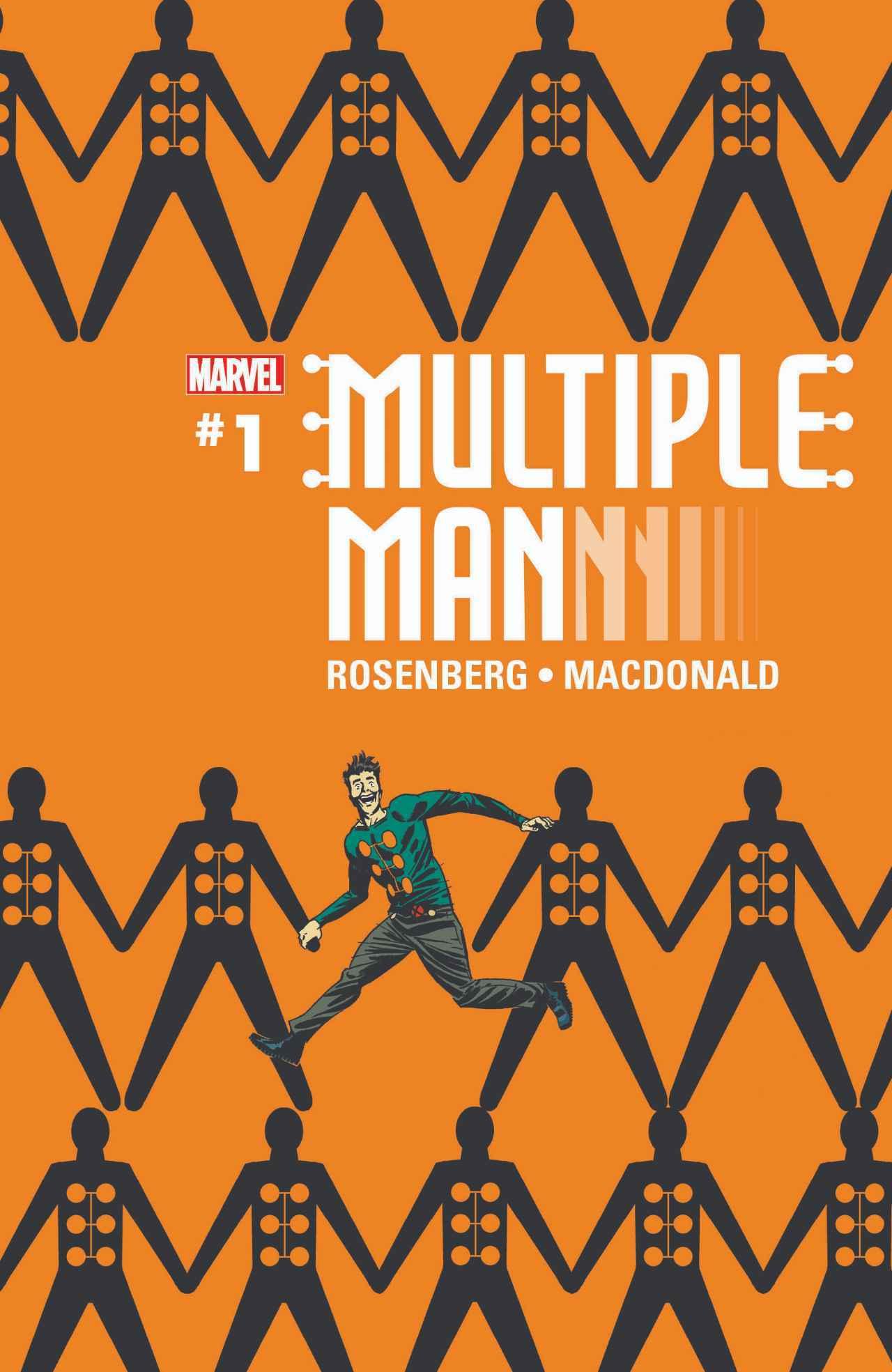 Multiple Man #1, copertina di Marcos Martin