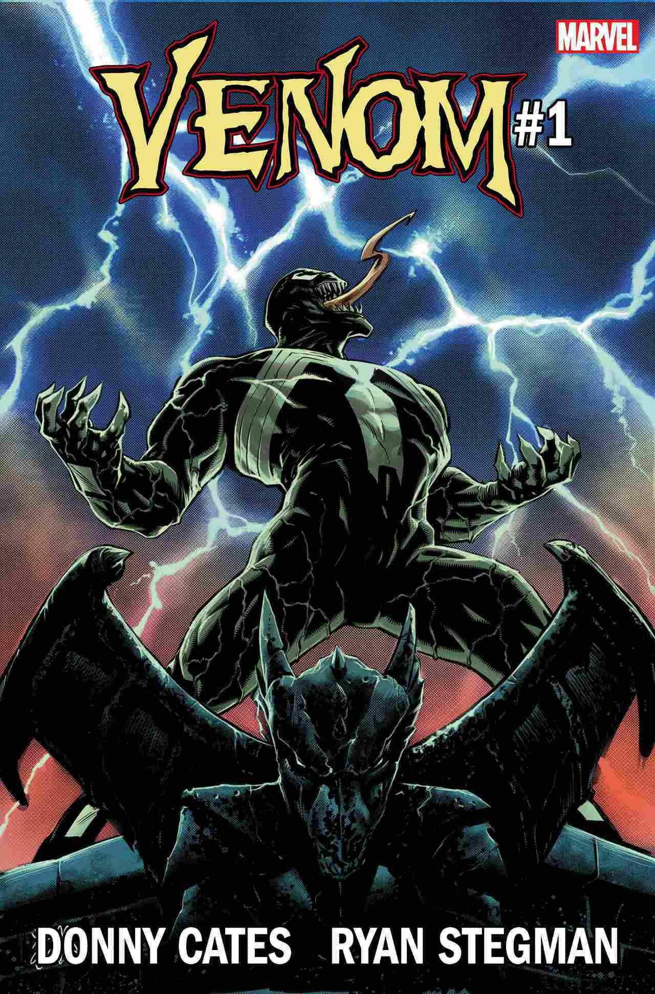 Venom #1, copertina di Ryan Stegman