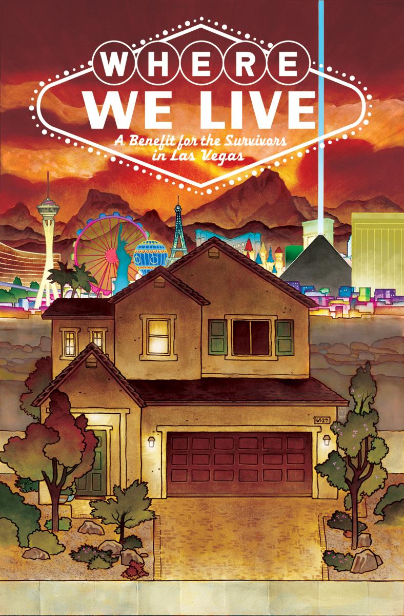 Where We Live, copertina di J. H. Williams