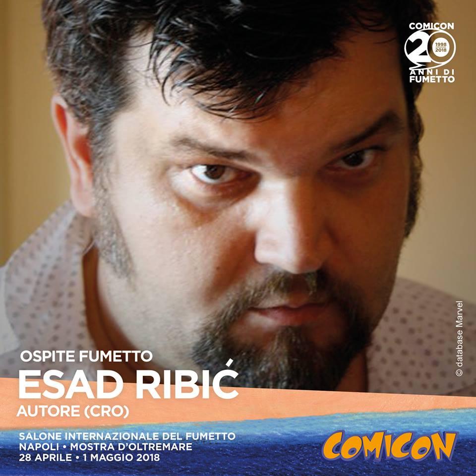 Esad Ribic a Napoli Comicon 2018
