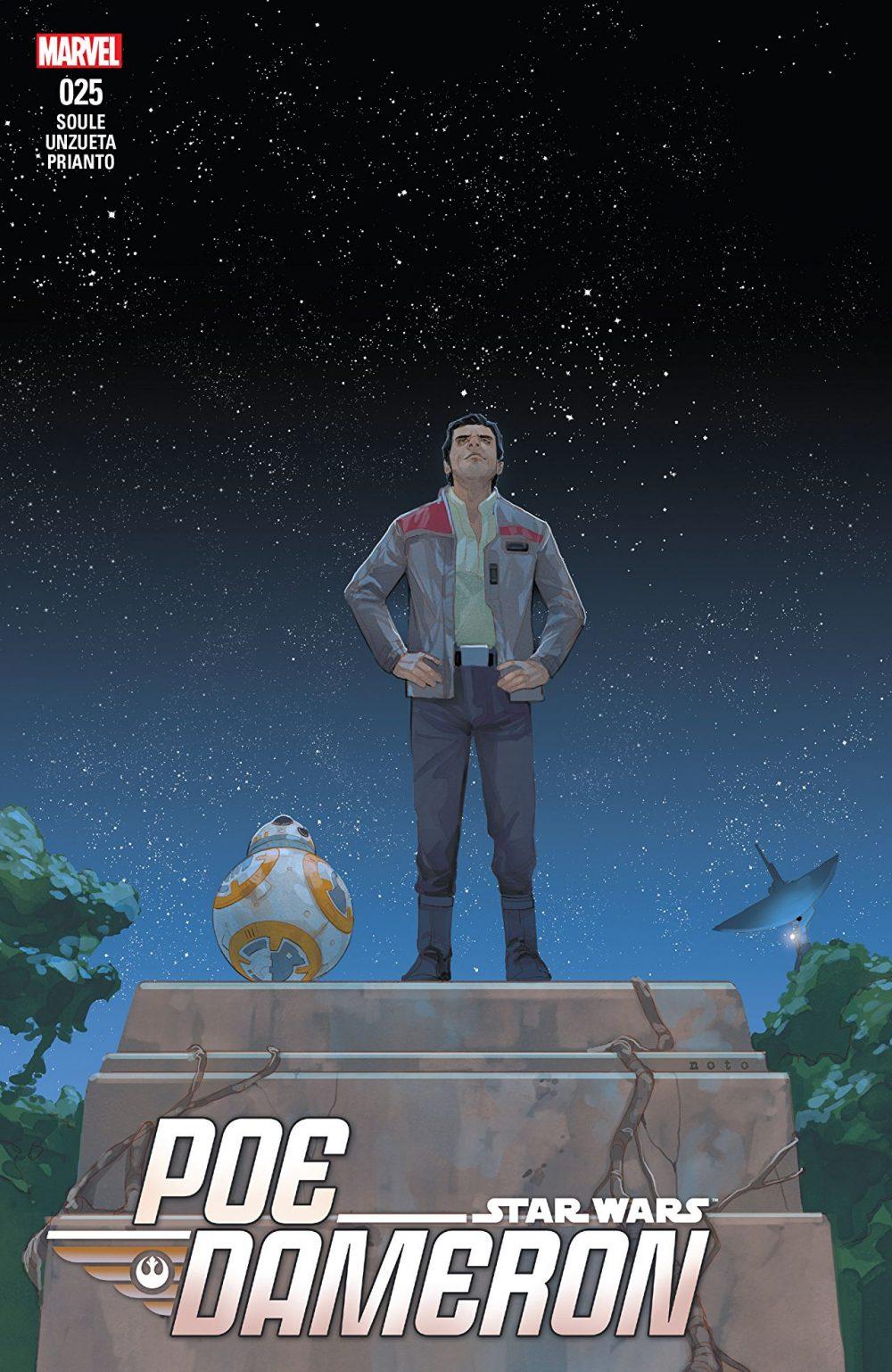 Poe Dameron #25, copertina di Phil Noto