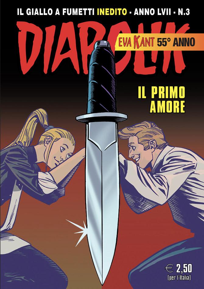 Diabolik Anno LVII n. 3: Il primo amore, copertina di Giuseppe Palumbo