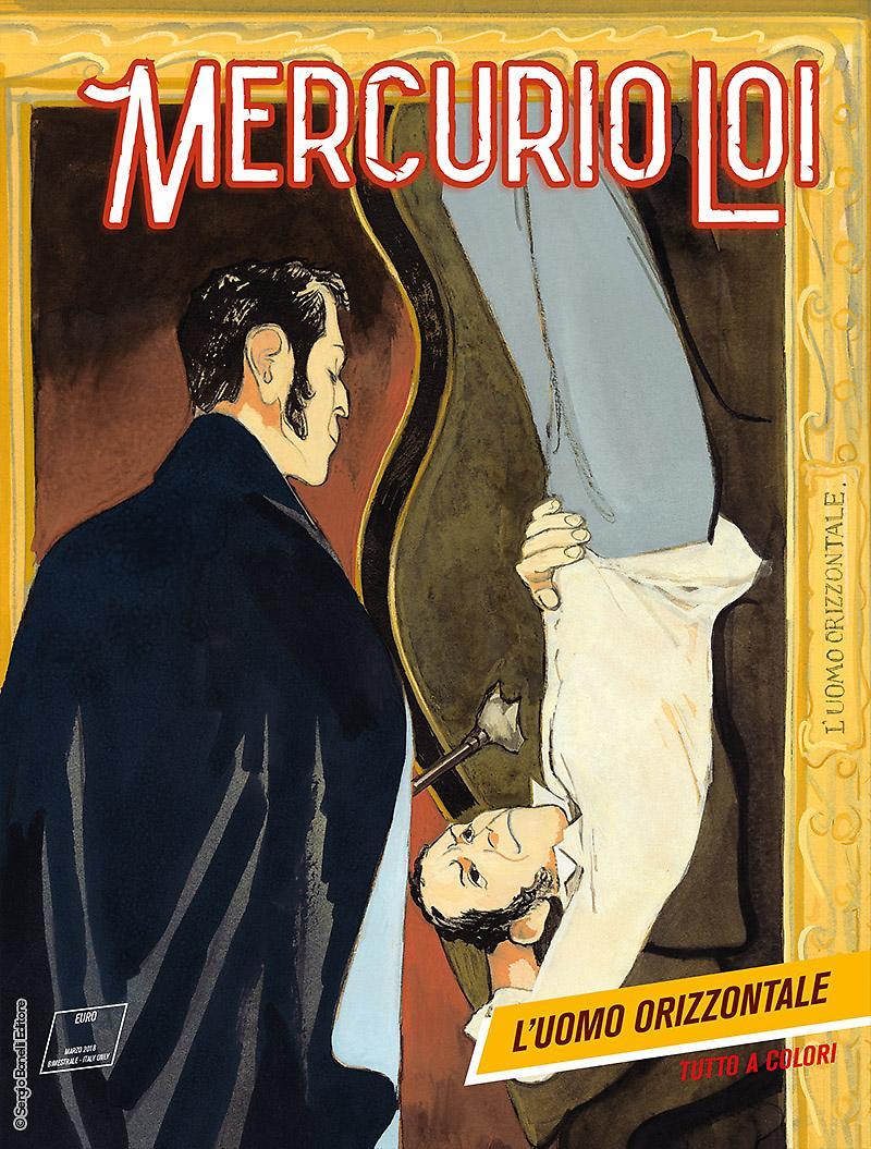 Mercurio Loi 10: L'uomo orizzontale, copertina di Manuele Fior