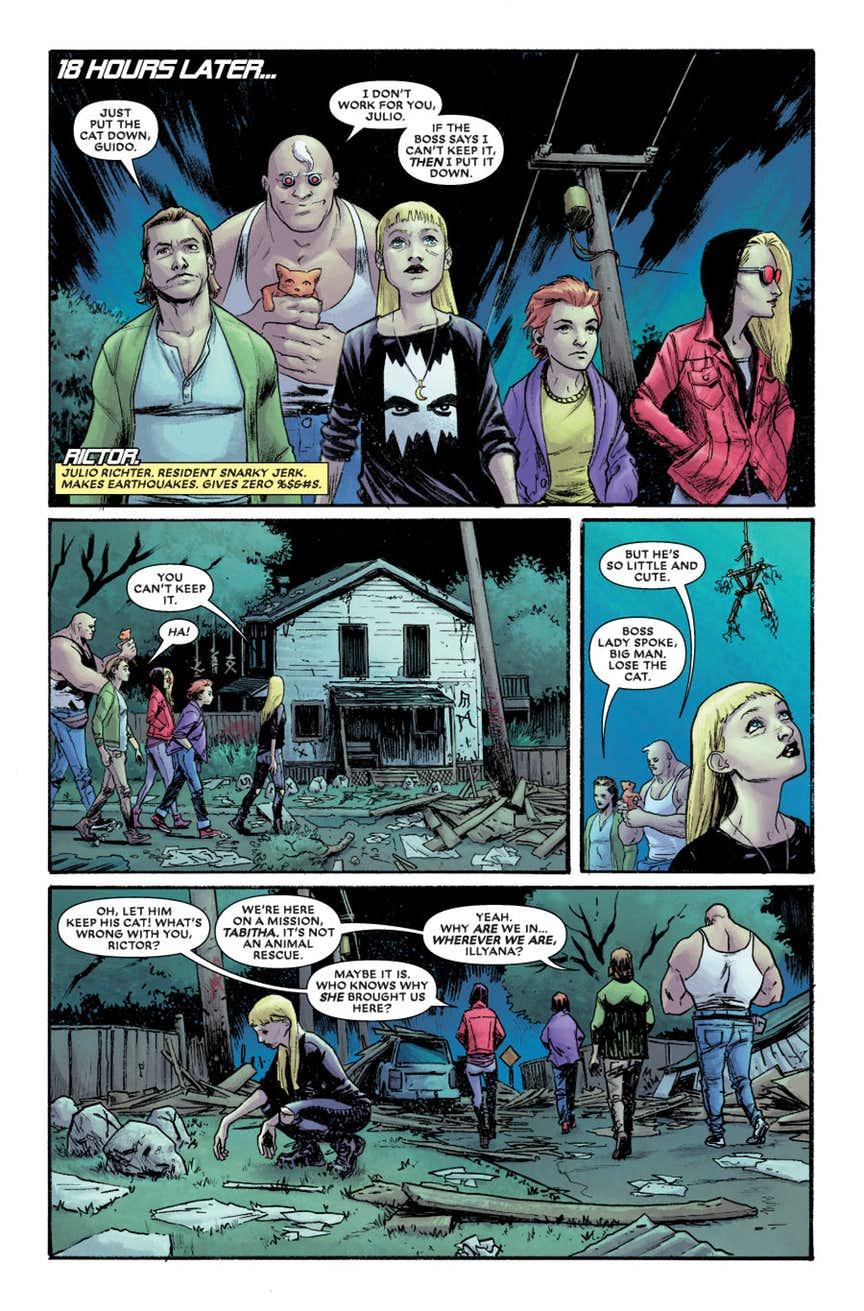 New Mutants: Dead Souls #1, anteprima 02