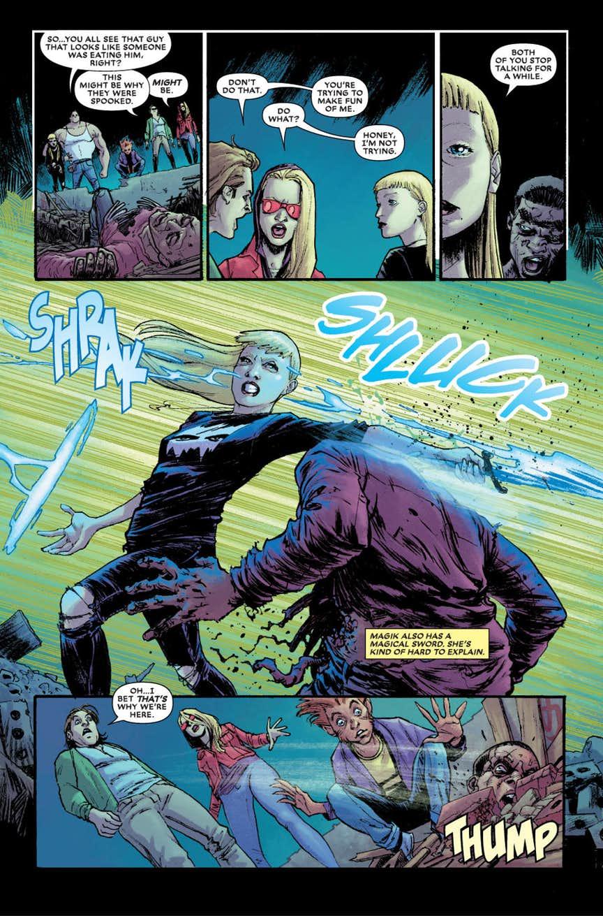 New Mutants: Dead Souls #1, anteprima 05