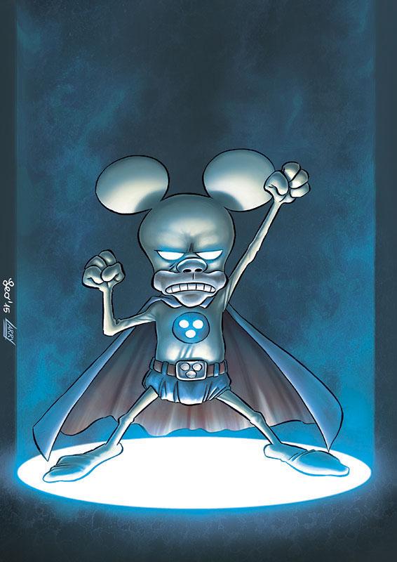 Rat-Man Color Special 34, copertina di Leo Ortolani