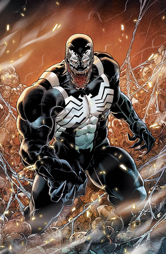 Venom 1, copertina variant di Javier Garron