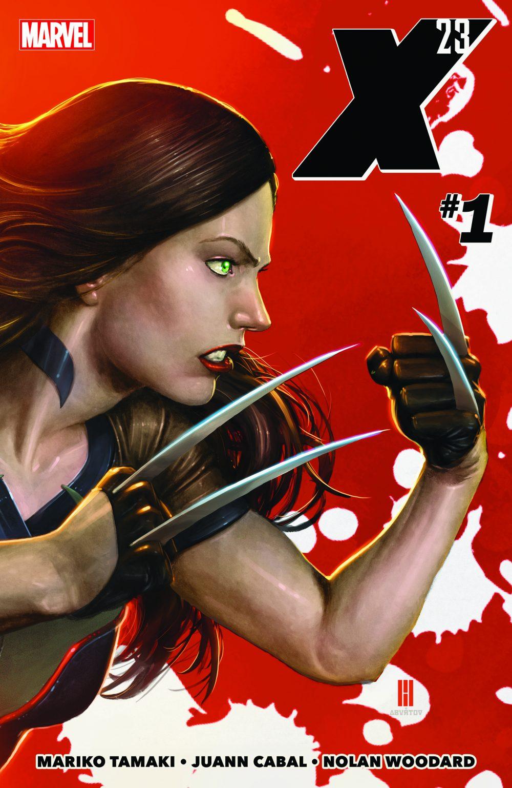 X-23 #1, copertina di Mike Choi
