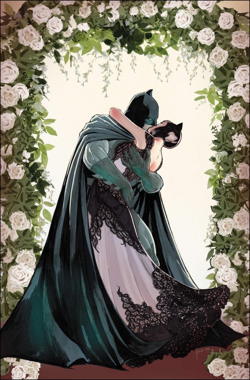 Batman #50, copertina di Mikel Janín