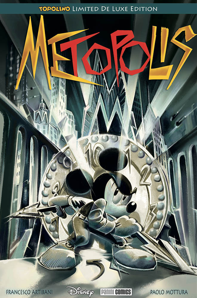 Metropolis, copertina di Paolo Mottura
