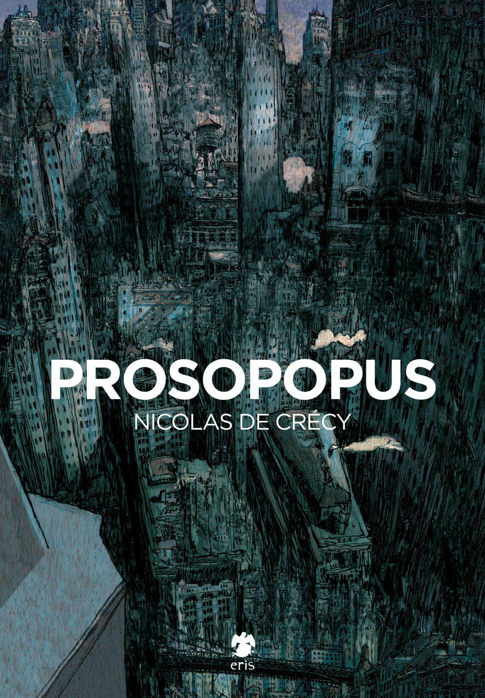 Prosopopus, copertina di Nicolas de Crécy