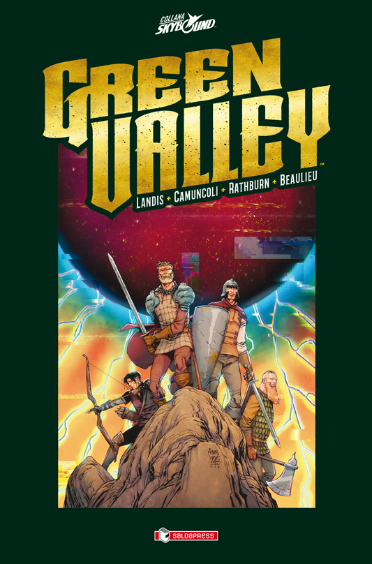 Green Valley, copertina di Giuseppe Camuncoli