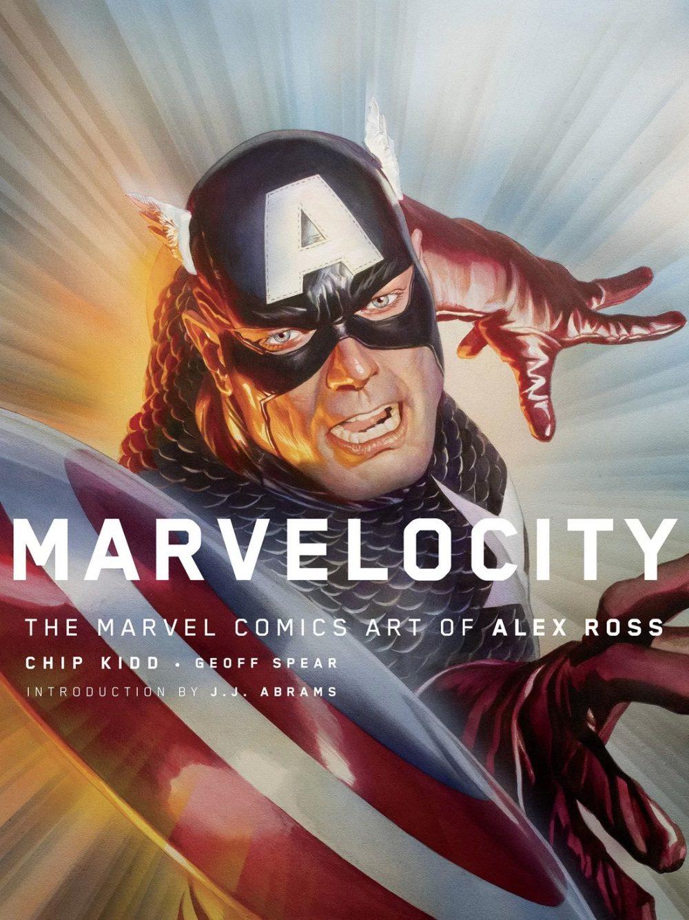Marvelocity, copertina di Alex Ross