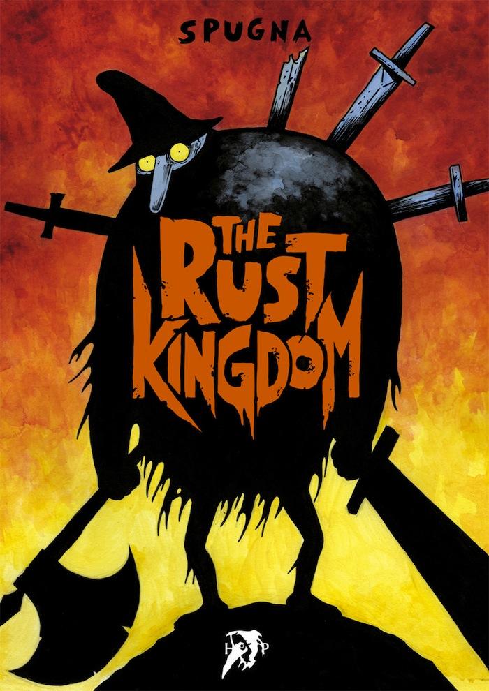 The Rust Kingdom, copertina di Spugna