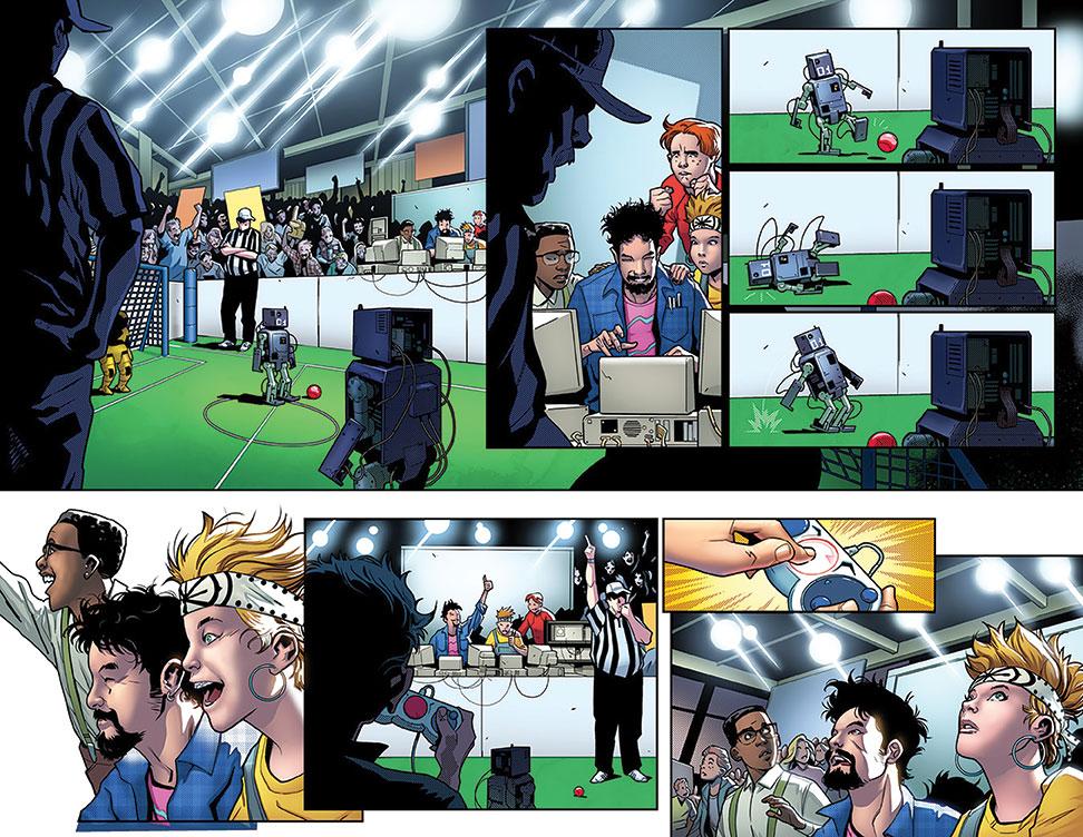 Tony Stark: Iron Man #1, anteprima 01