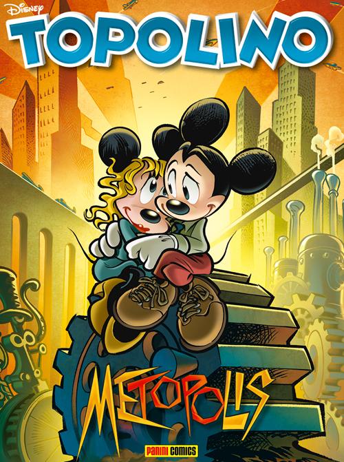 Topolino 3189, copertina di Paolo Mottura