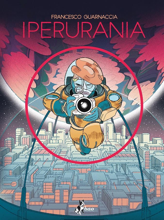 Iperurania, copertina di Francesco Guarnaccia