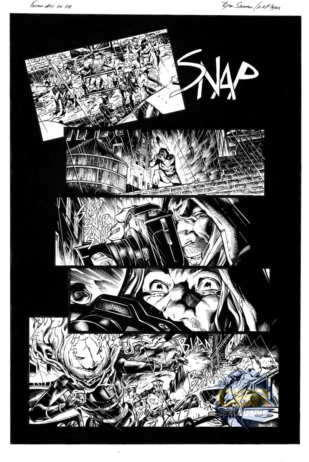 Venom #1, anteprima 05 (chine)