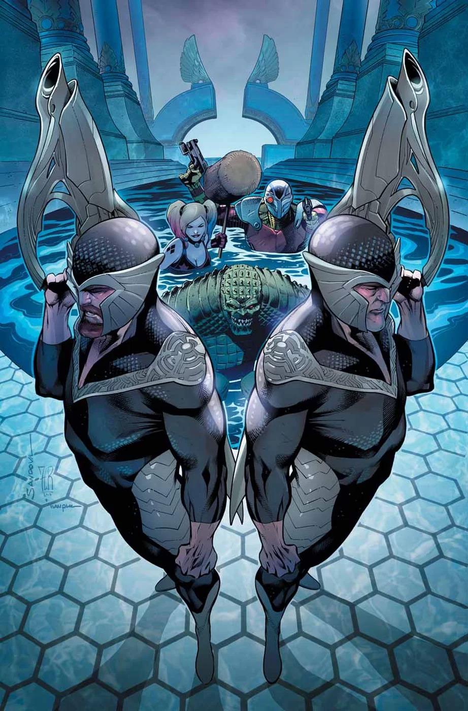 Suicide Squad #45, copertina di Rafa Sandoval