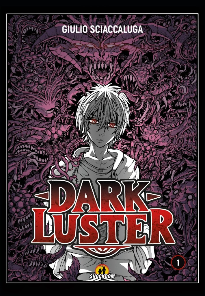 Dark Luster, copertina di Giulio Sciaccaluga