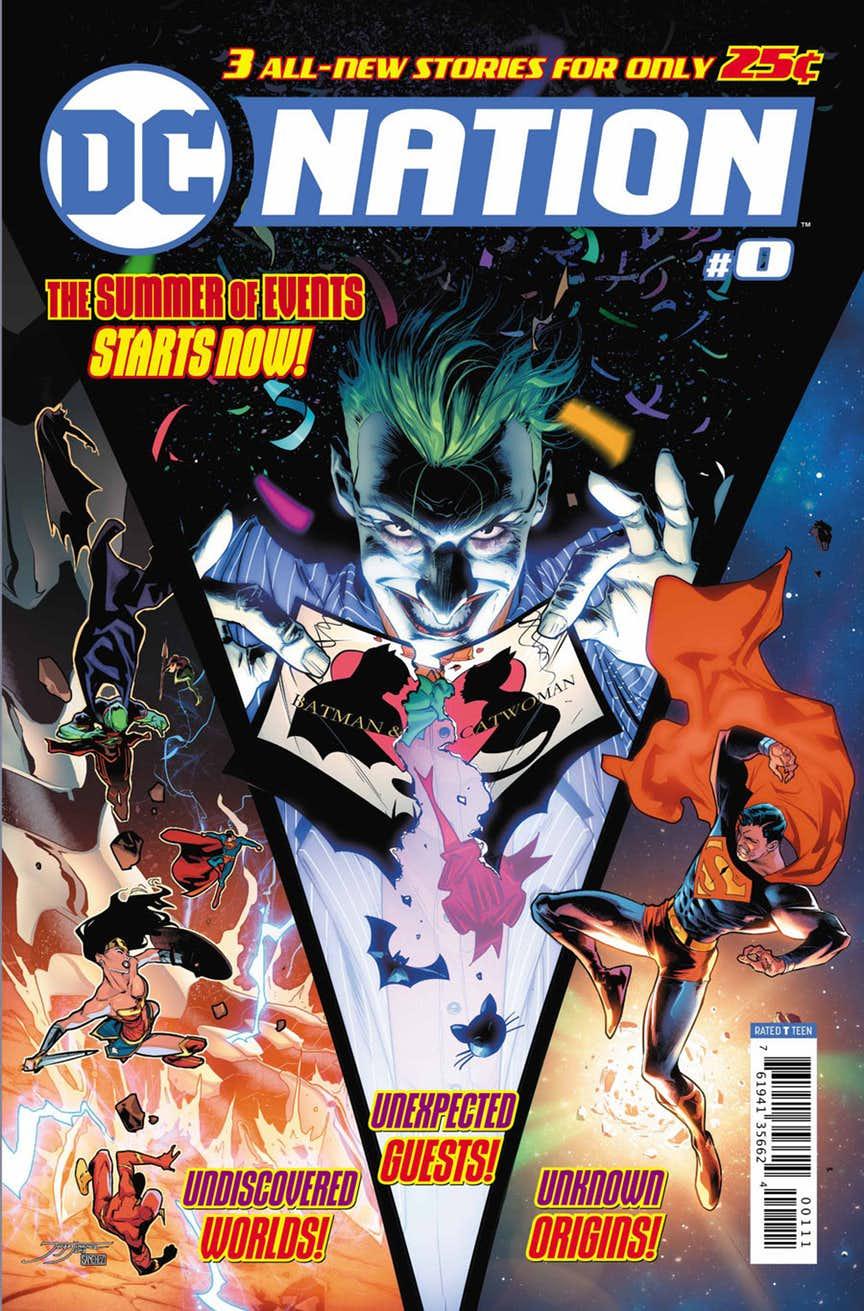 DC Nation #0, copertina di Jorge Jimenez