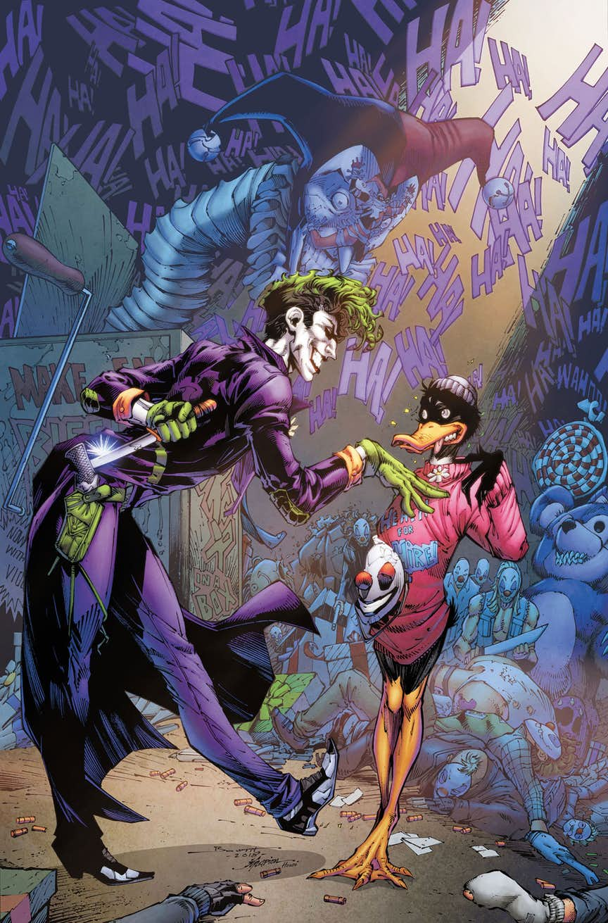 Joker/Daffy Duck Special #1, copertina di Brett Booth e Norm Rapmund