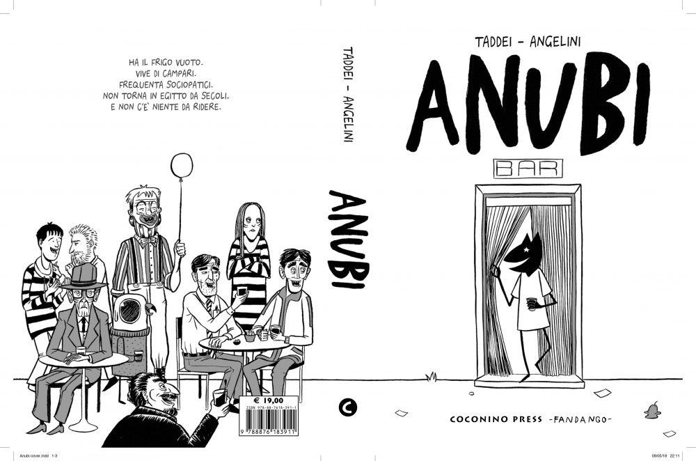 Anubi, copertina di Simone Angelini