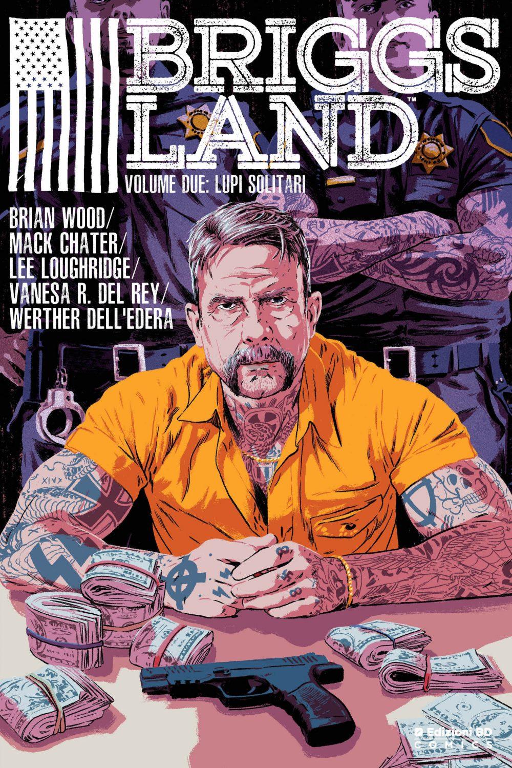 Briggs Land vol. 2: Lupi solitari, copertina di Tula Lotay