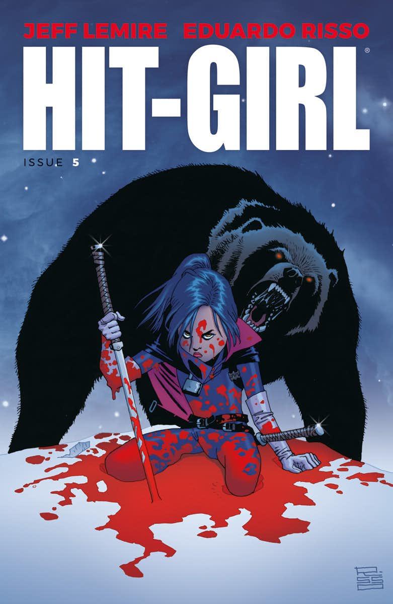 Hit-Girl #5, copertina di Eduardo Risso