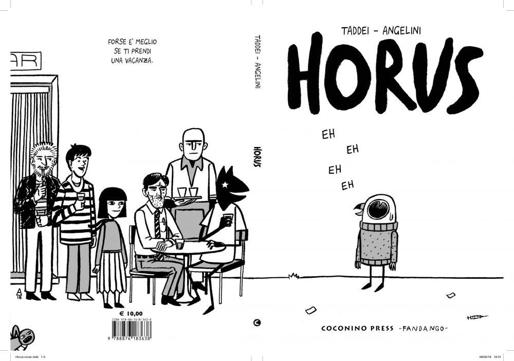 Horus, copertina di Simone Angelini