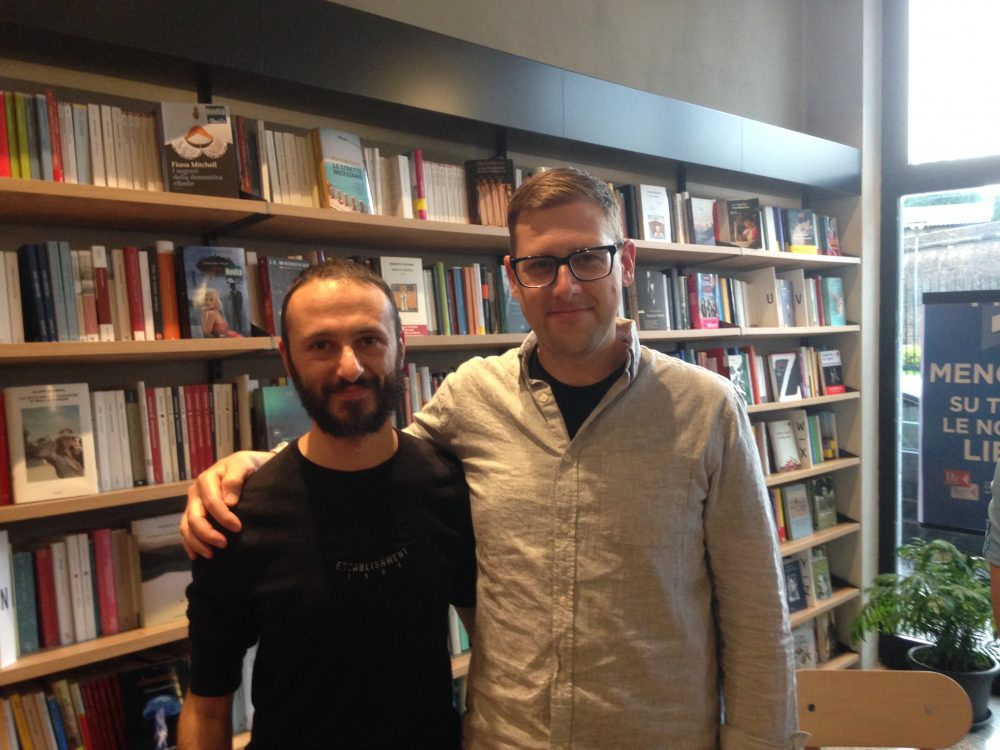 Claudio Scaccabarozzi e Jeff Lemire