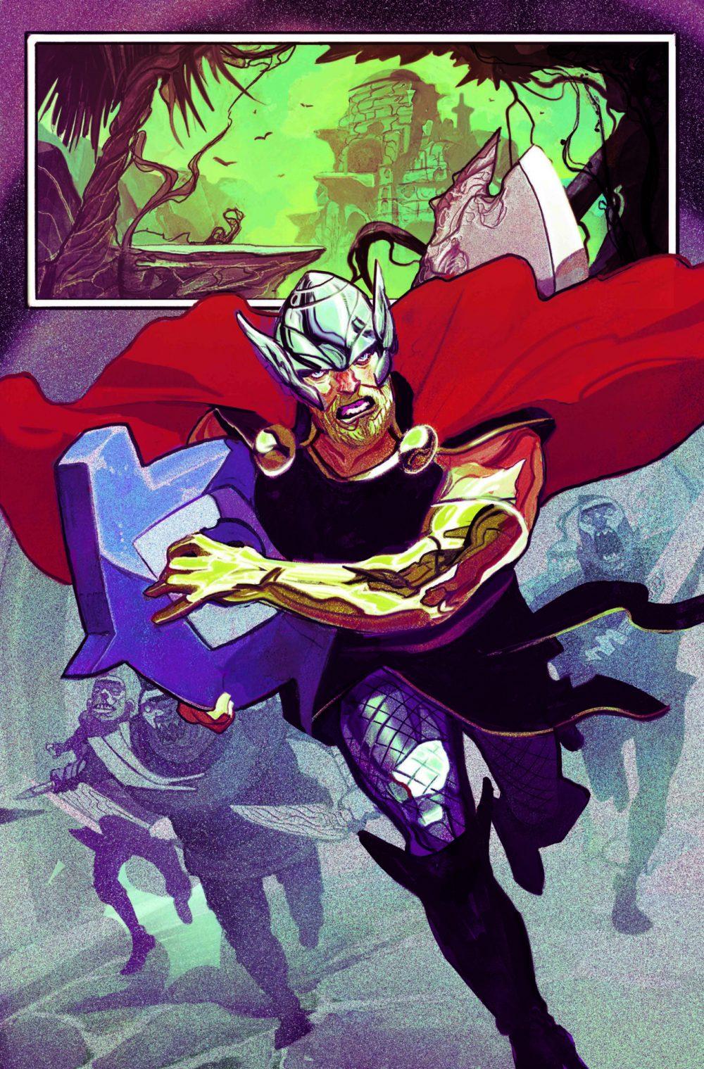 Thor #1, anteprima 01