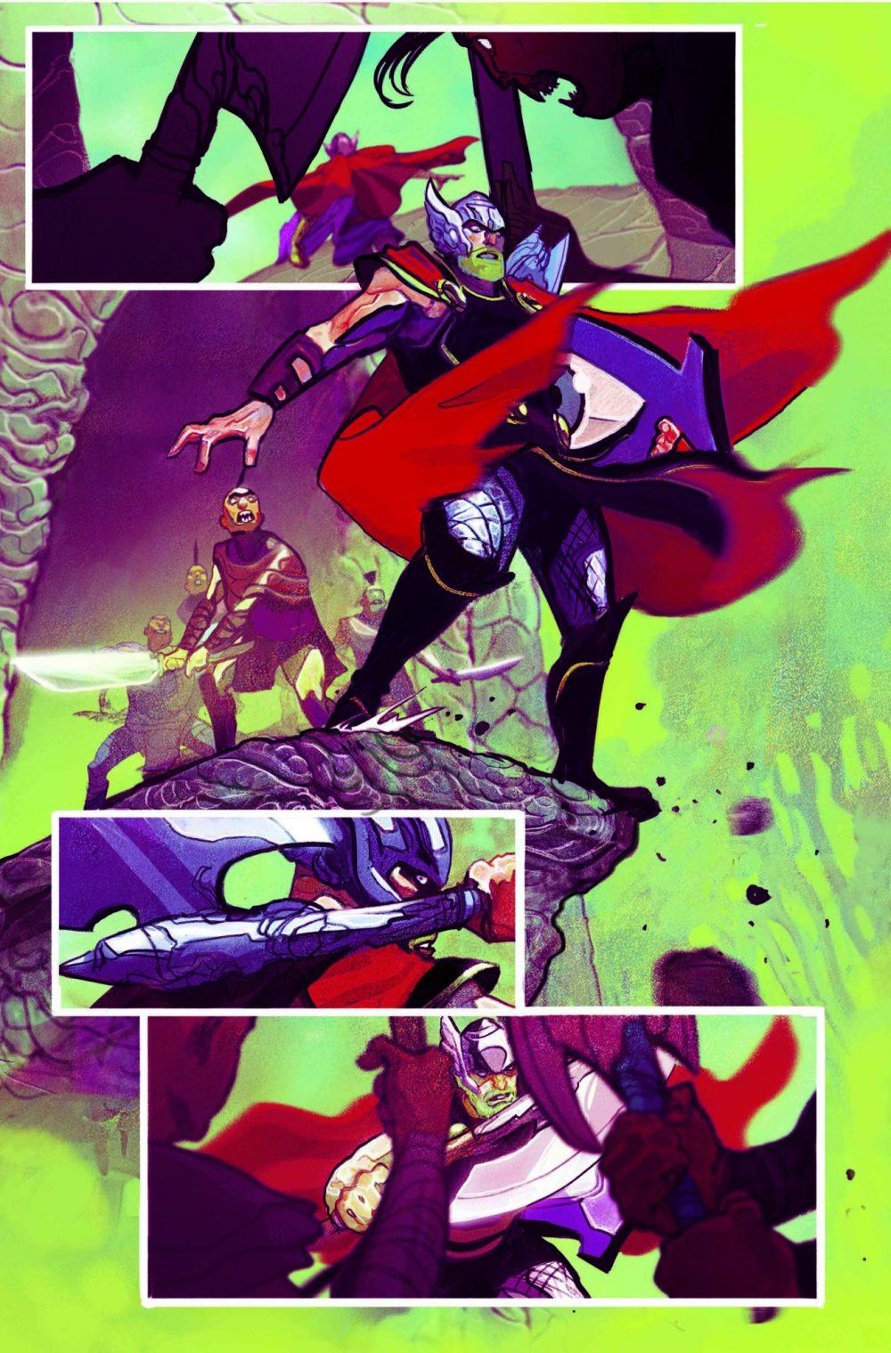 Thor #1, anteprima 02