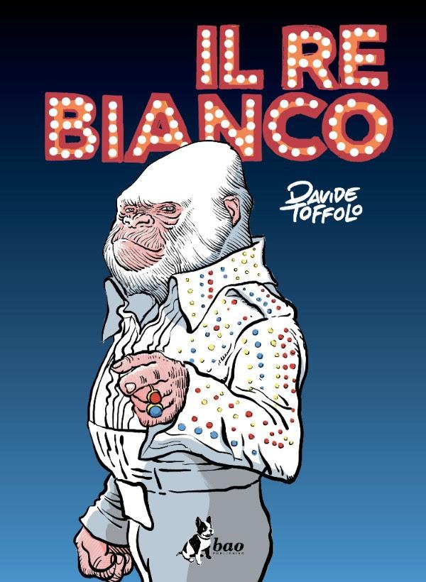 Il re bianco, copertina di Davide Toffolo