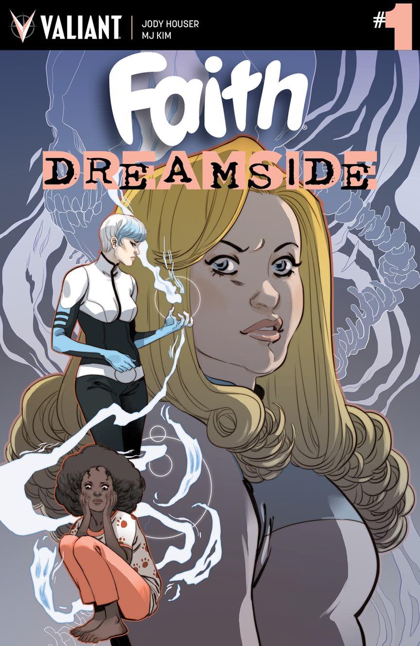 Faith: Dreamside #1, copertina di Marguerite Sauvage