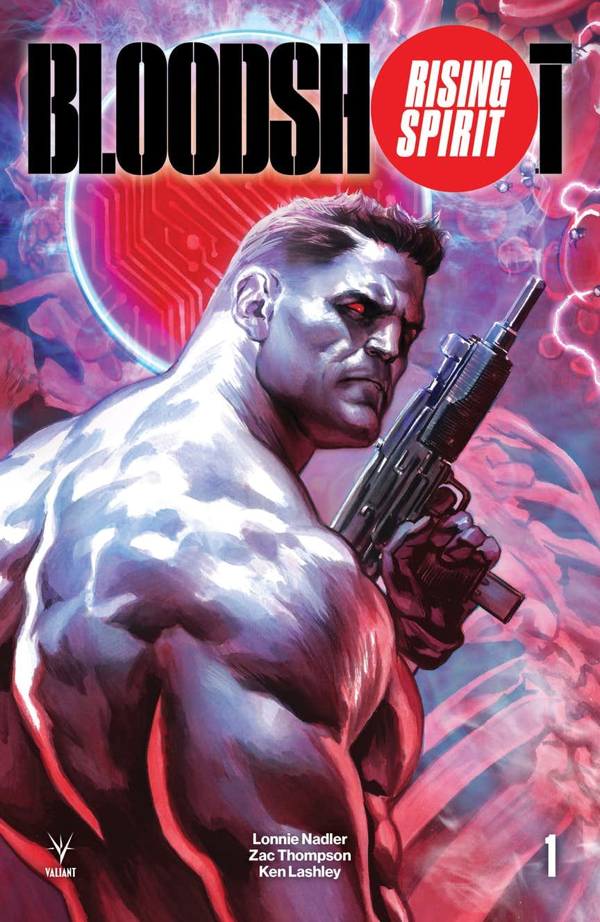 Bloodshot: Rising Spirit #1, copertina di Felipe Massafera