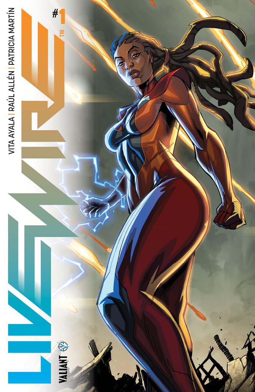 Livewire #1, copertina di Khary Randolph